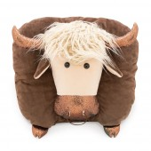 Bull Boss Pillow