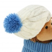 Prickle the Hedgehog in white/blue hat