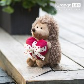Prickle the Hedgehog with heart