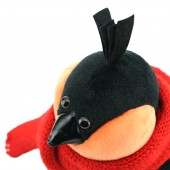 Bob the Bullfinch: Red Scarf