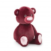 Fluffy the Maroon Bear